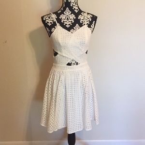 Gianni Bini white sundress size small